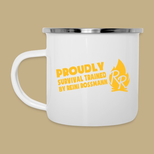 Survival Trained by Reini Rossmann - Emaille-Tasse