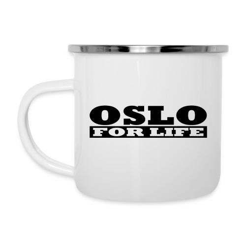 Oslo fürs Leben - Emaille-Tasse