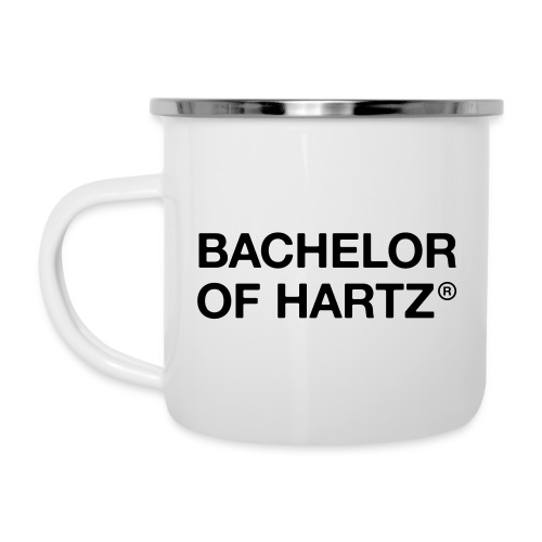 Bachelor of Hartz - das Original - Emaille-Tasse