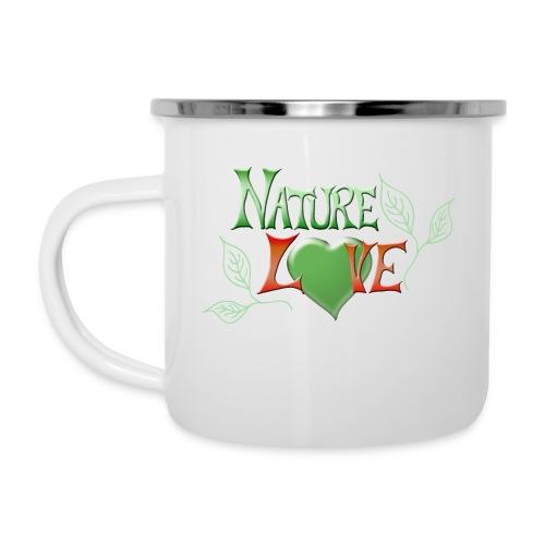 Nature Love - Emaille-Tasse