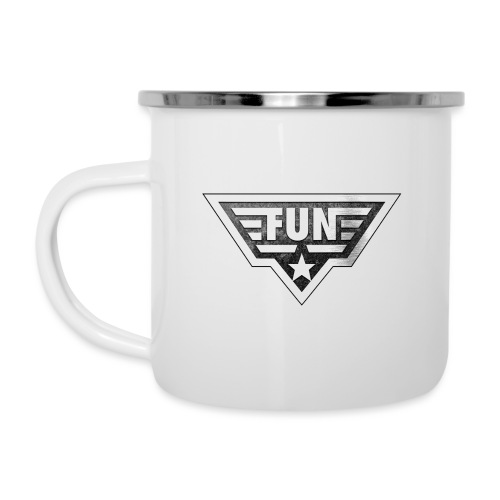 Fun4You Emblem Fun - Emaille-Tasse