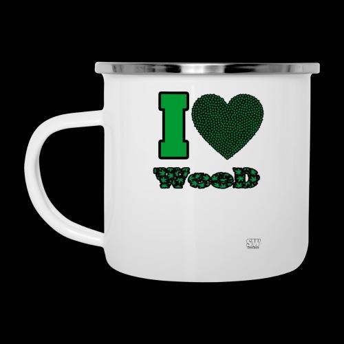 I Love weed - Tasse émaillée
