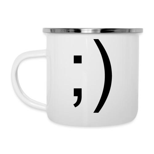 Wink Wink Smile - Camper Mug