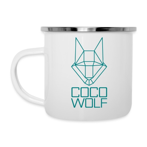 COCO WOLF - Emaille-Tasse