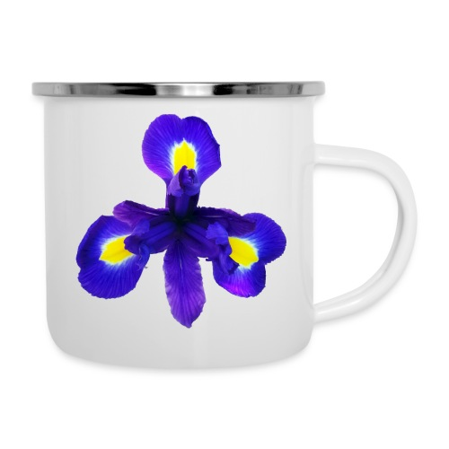 TIAN GREEN Garten - Iris 2020 01 - Emaille-Tasse