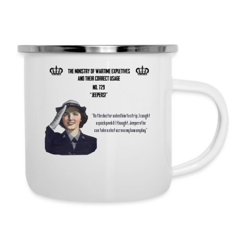 The Ministry Of Wartime Expletives - Camper Mug