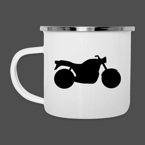 Naked Bike Classic 0NK02 - Emaille-Tasse