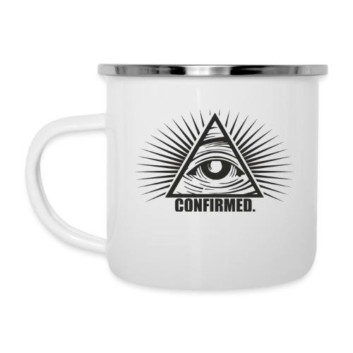 illuminati - Emaille-Tasse