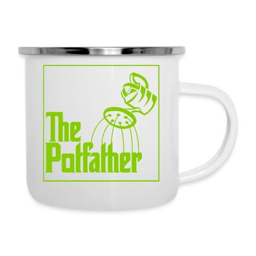 potvater - Emaille-Tasse