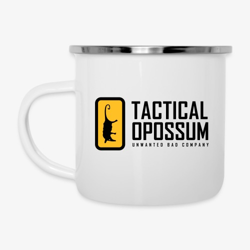 TACTICAL OPOSSUM FLAG - Tazza smaltata