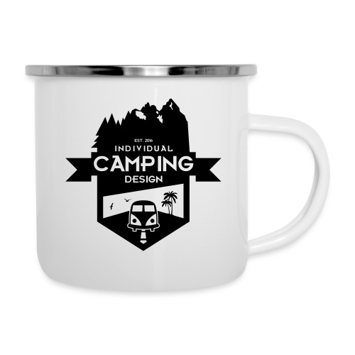 IndividualCampingDesign_1.0 - Emaille-Tasse