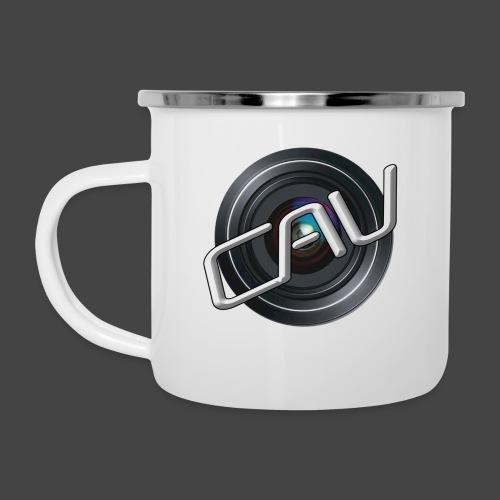 CAV-Logo - Emaille-Tasse