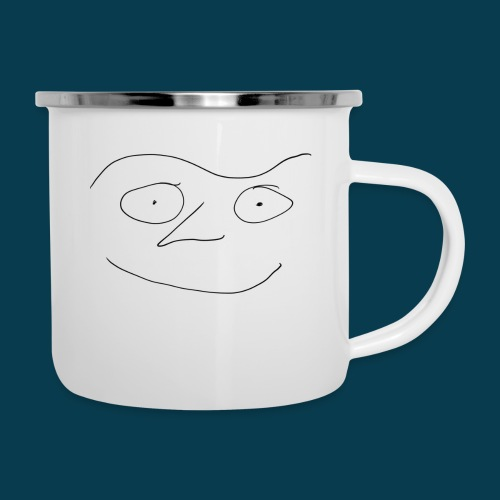 Chabisface Fast Happy - Emaille-Tasse