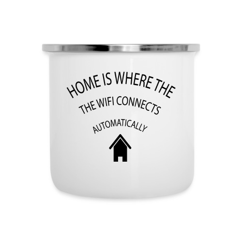 Home is where the Wifi connects automatically - Camper Mug