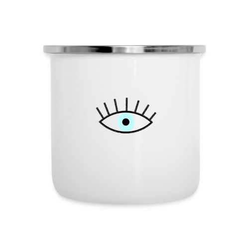 Eye-candy - Emaille-Tasse