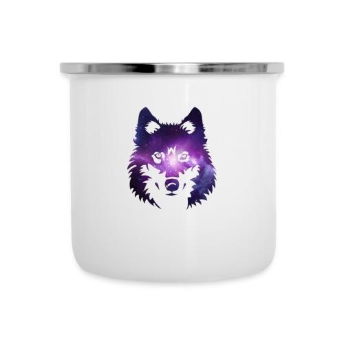 Galaxy wolf - Tasse émaillée