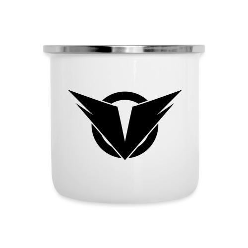 Vintry Logo on back - Emaille-Tasse