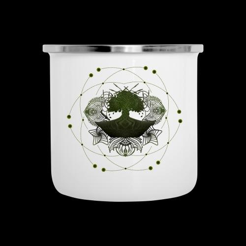 glommmy tree GREEN - Camper Mug