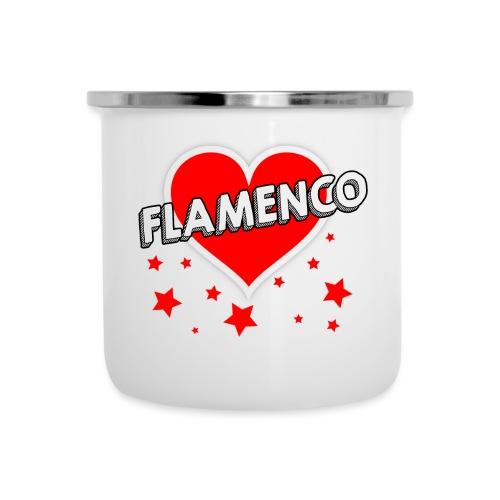 FlamenCorazon - Tasse émaillée