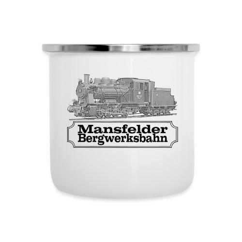 mansfelder bergwerksbahn dampflok 2 - Emaille-Tasse