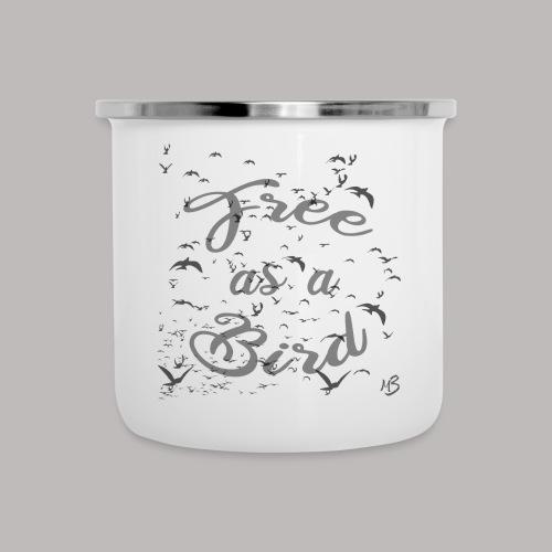 free as a bird | free as a bird - Camper Mug