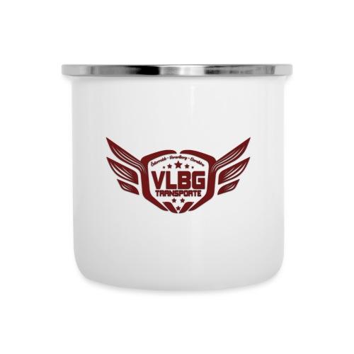 VLBG Logo Rot (nur Vorne) - Emaille-Tasse