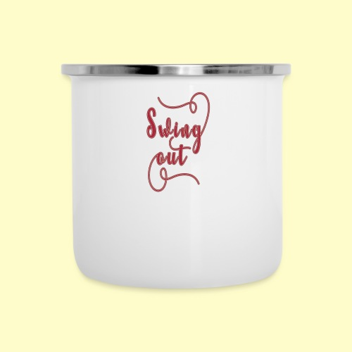 Swing Out Lindy Hop Vintage - Swing Retro - Emaille-Tasse