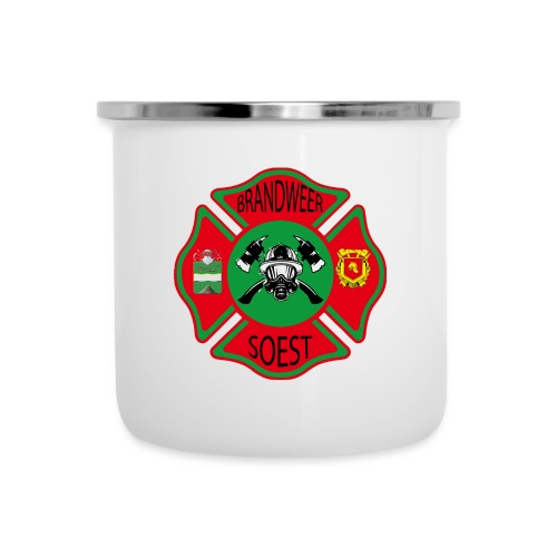 Patch Brandweer Soest - Emaille mok