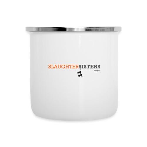 SlaughterSisters Orange - Emaljmugg