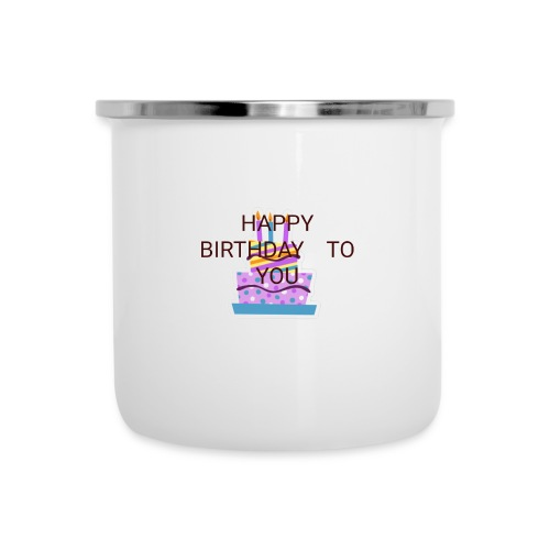 happy birthday 1 - Camper Mug