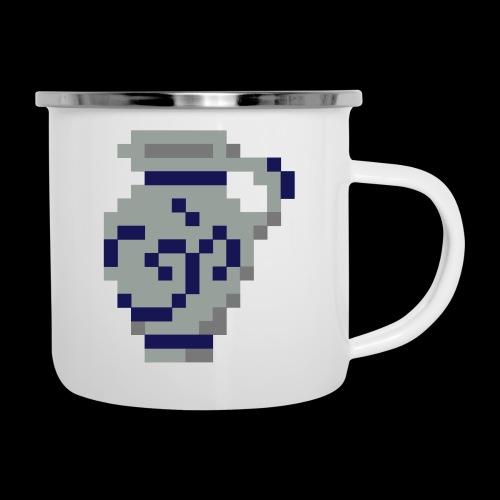 Pixel Bembel - Emaille-Tasse