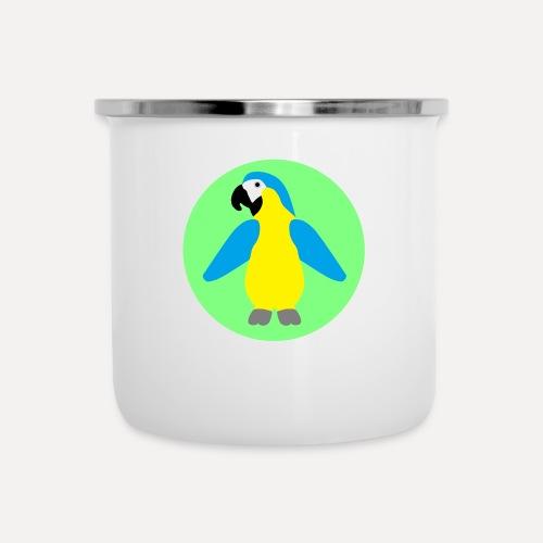 Yellow-breasted Macaw - Camper Mug