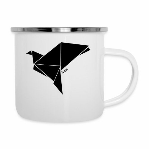 Origami - Tasse émaillée