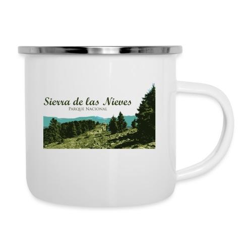 Sierra de las Nieves Parque Nacional - Taza esmaltada