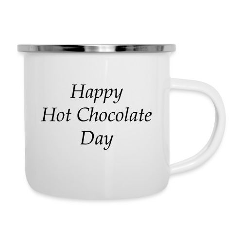 Hot Chocolate mug - Emaille mok