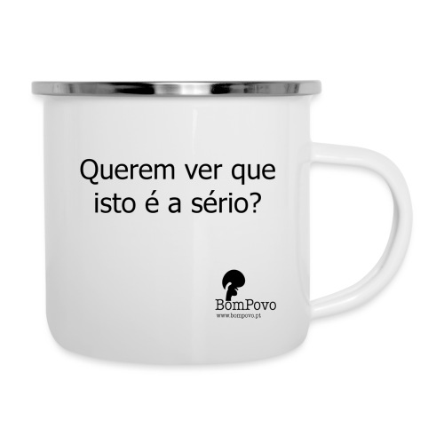 queremverqueistoeaserio - Camper Mug