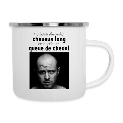 Humour Chauve ! - Tasse émaillée