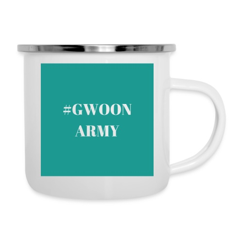 #gwoonarmy - Emaille mok