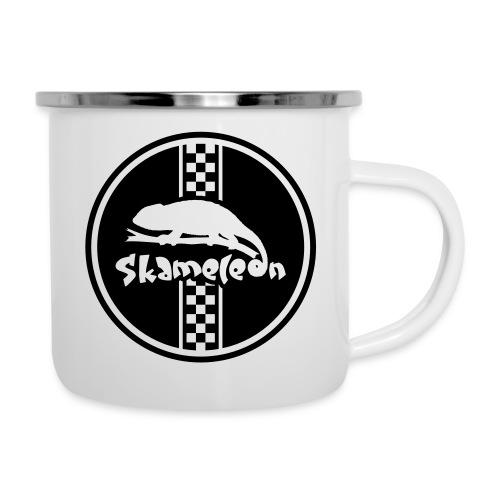 skameleon Logo - Emaille-Tasse