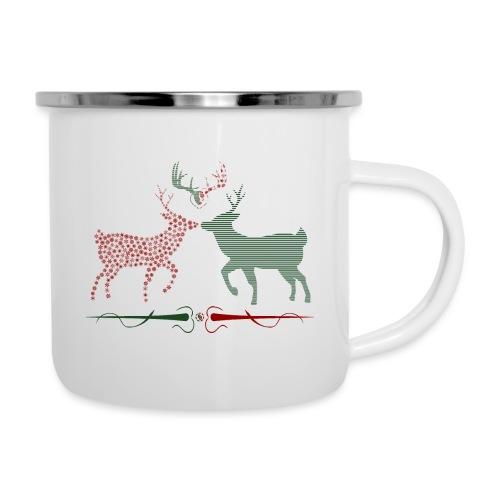 Christmas deer - Camper Mug