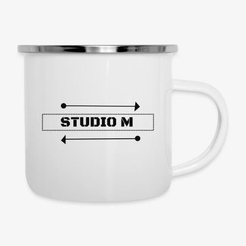 Studio M (negro) - Taza esmaltada