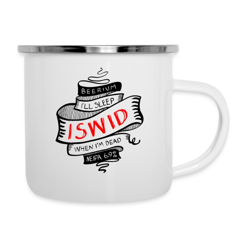 ISWID tattoo - Emaljmugg