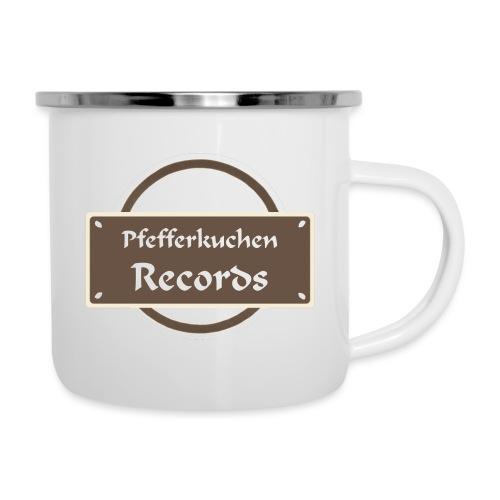 Pfefferkuchen Records Label - Emaille-Tasse