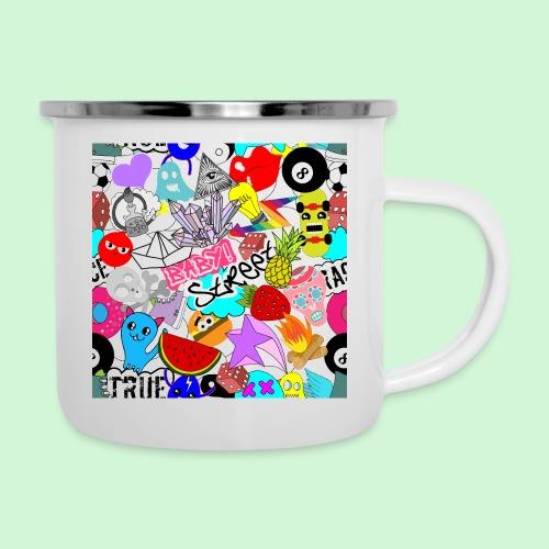 Stickers #1 - Emaille-Tasse