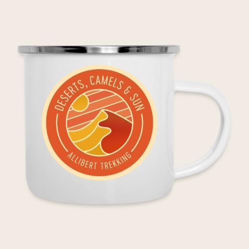 Deserts, Camels & Sun - Badge - Tasse émaillée