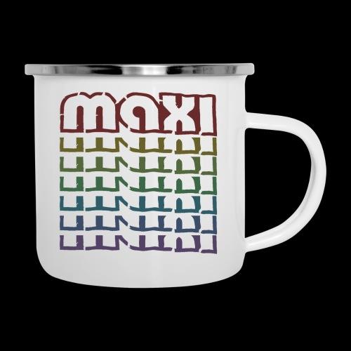 Maxi Bunt - Emaille-Tasse