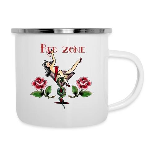 Red Zone - Taza esmaltada