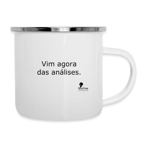 Vim agora das análises. - Camper Mug