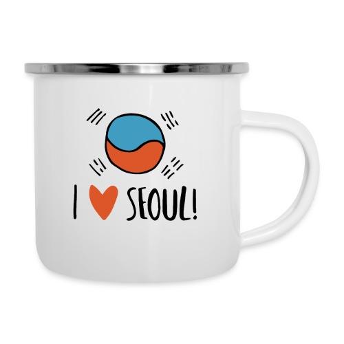 Seoul - Emaille-Tasse