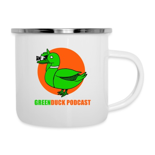 Greenduck Podcast Logo - Emaljekrus